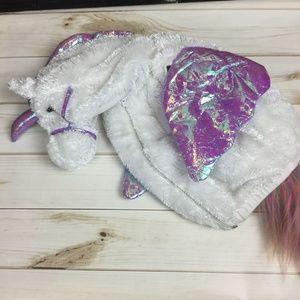 Unicorn Pegasus Costume Toddler White Horse 2 -4 y